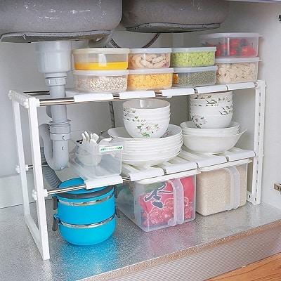 comprar estante bajo fregadero lavaplatos