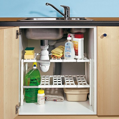 organizador para bajo fregadero de cocina