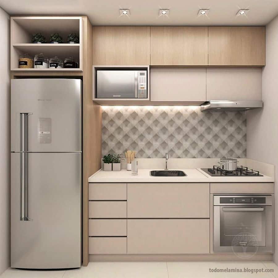 ⭐️ Cocina de una pared o lineal
